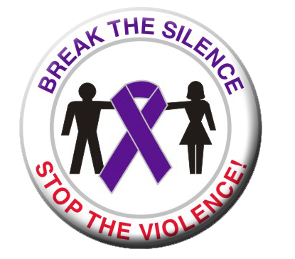 Break The Silence - Stop The Violence Button