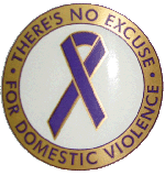 THERE'S NO EXCUSE FOR DV - STICKERS
