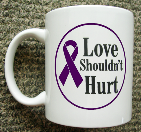 Love Shouldn't Hurt - Mug