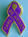 Be Aware/Care - Lapel Pin