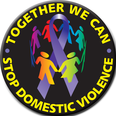 Together We Can Stop Domestic Violence - Tee-Shirt