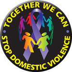TOGETHER WE CAN STOP DV Button