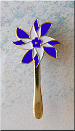 Pinwheel Lapel Pin