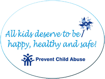 "All kids deserve to be happy, healthy and safe! -  3""x 4"" Oval Magnet"