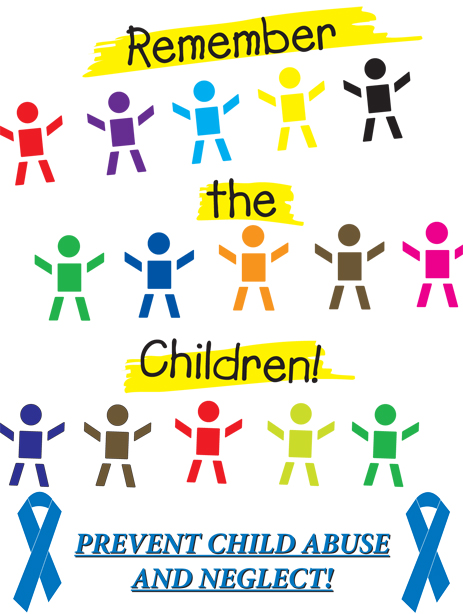 SALE POSTER PACKAGE - All 4 Child Abuse Awareness Posters