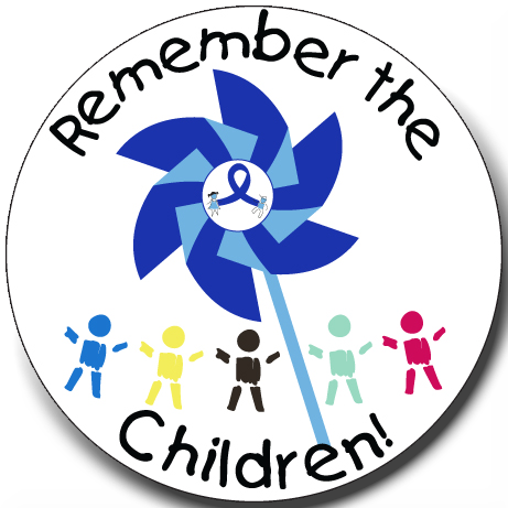 Remember The Children - Button
