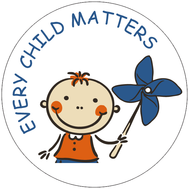 "EVERY CHILD MATTERS 2"" Stickers - Roll of 1,000"