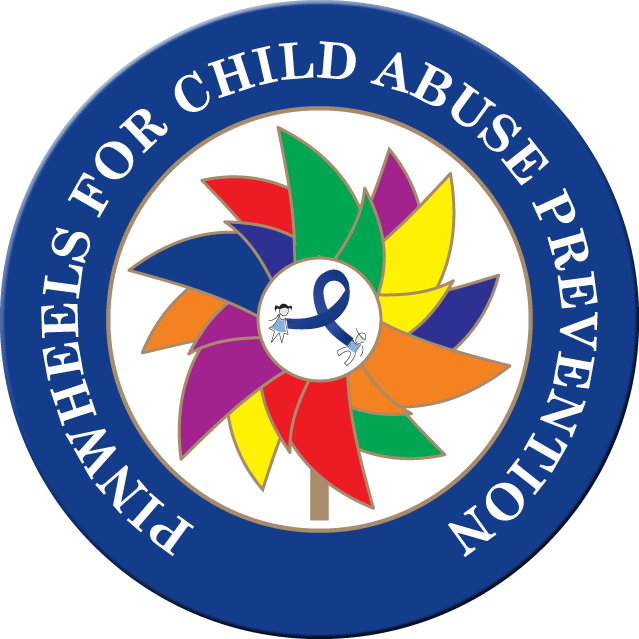 *SALE BAG OF 72 CHILD ABUSE AWARENESS - Buttons