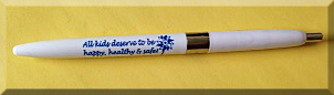 All kids deserve to be happy, healthy & safe! - Pinwheel Pen