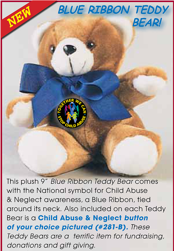 "Together We Can Stop - 9"" Teddy Bear"