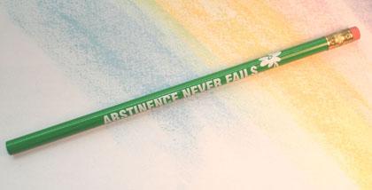 Daisy/Abstinence Never Fails - Pencil