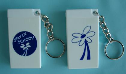 DAISY/Stay in School - Condom Key Chain