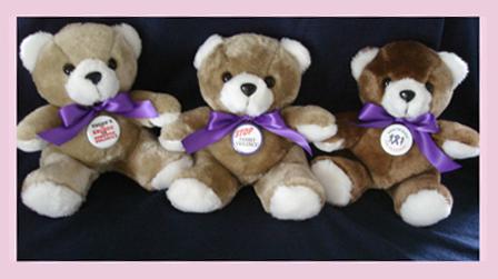 Hands Aren't For Hitting - Teddy Bear