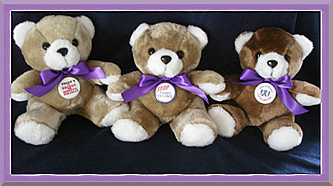 There's No Excuse For Domestic Violence - Teddy Bear
