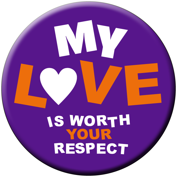 """Worth Your Respect"" - 1½"" Buttons"