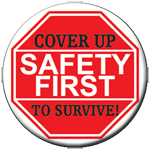 Safety First Cover Up Stickers