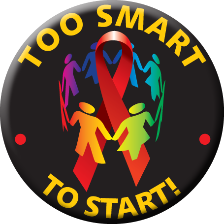 """""""TOO SMART TO START!"""" - Button"""