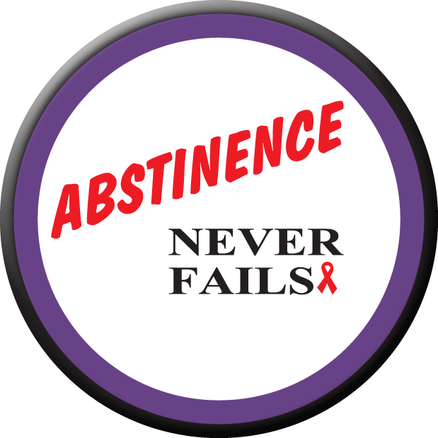 Abstinence Never Fails - Stickers