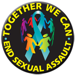 "END SEXUAL ASSAULT! - 2 ¼""  Button"