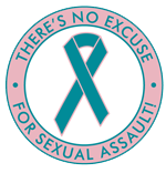 There's No Excuse For Sexual Assault- Button