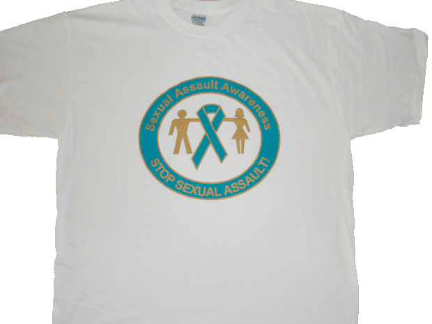 SIX PACK OF SEXUAL ASSAULT AWARENESS TEE-SHIRTS
