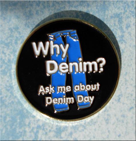Why Denim - Lapel Pin