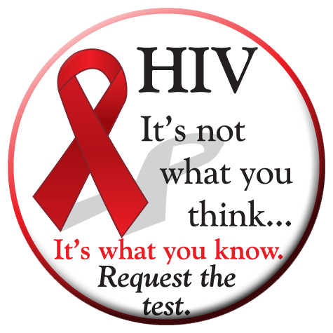 HIV Request the test - Button