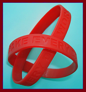 MAKE EVERY DAY WORLD AIDS DAY - Wristbands