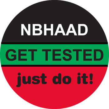 GET TESTED... just do it! - Buttons