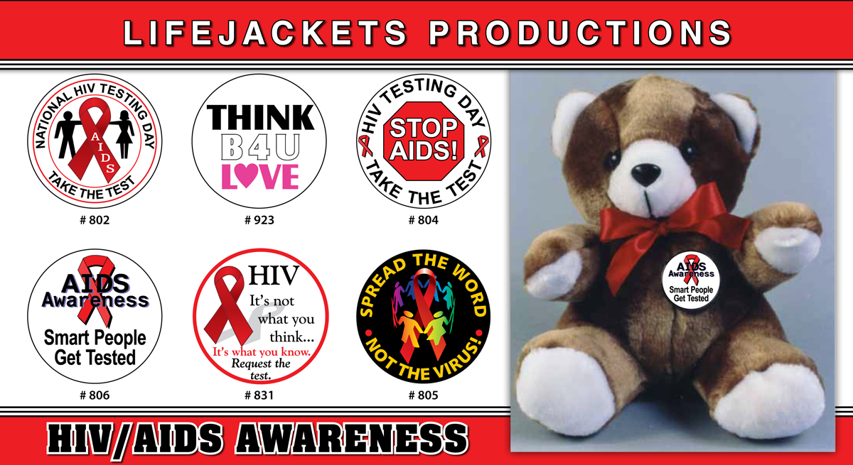 World AIDS Day 12/1 - Teddy Bear