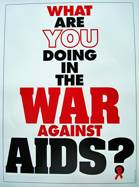 "Free AIDS Poster(18""x24"")"