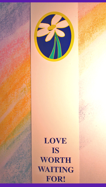 DAISY/Love Is Worth Waiting For - Bookmark