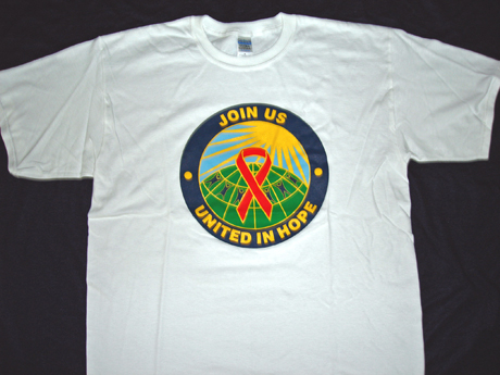 UNITED IN HOPE/Red Ribbon- Tee-Shirt