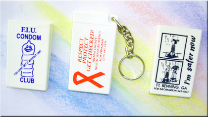 CUSTOM Condom - Key-Chains