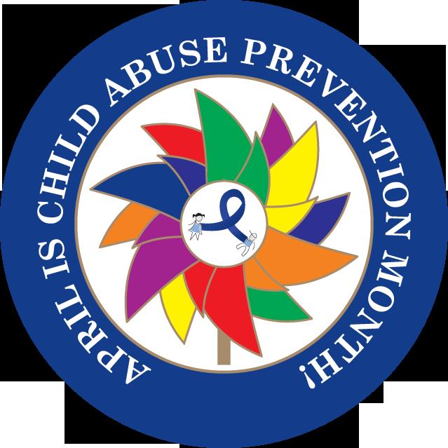 Blue Pinwheel Child Abuse Neglect Awareness Material