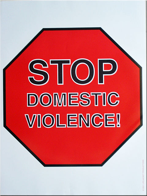 Stop Domestic Violence! - Poster