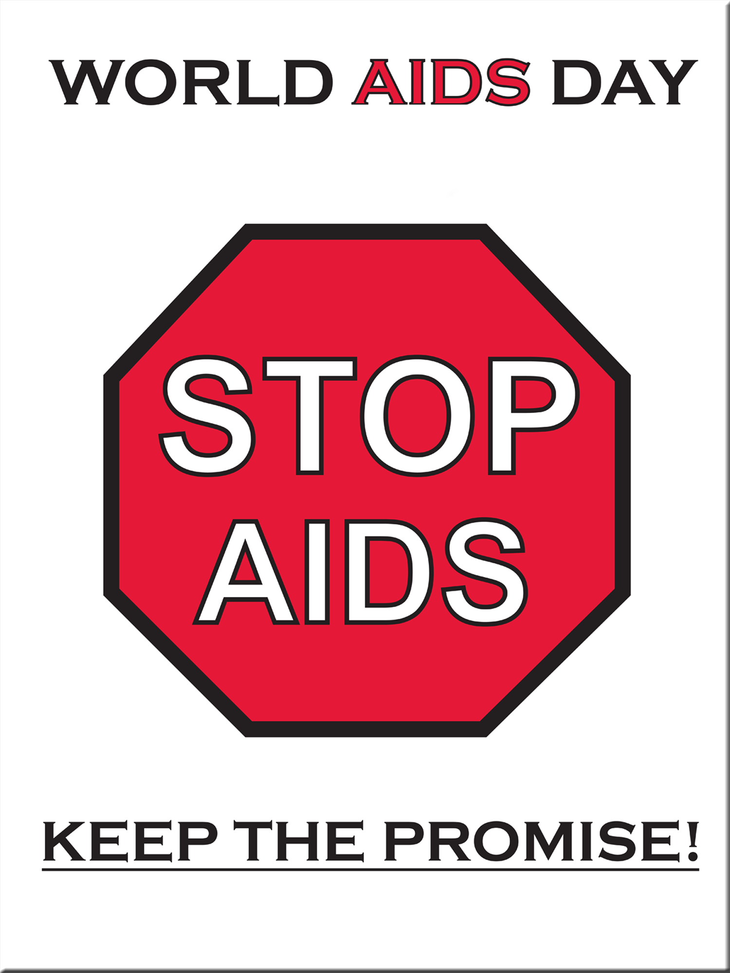 *HIV/AIDS Awareness POSTER SALE- Package of 10