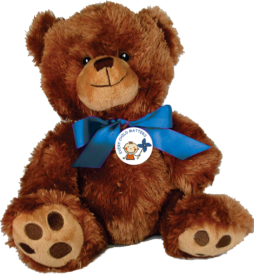 "EVERY CHILD MATTERS - 10"" Teddy Bear w/embroidered features"