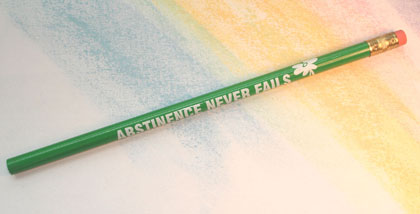 Daisy/Abstinence Never Fails - Pencil
