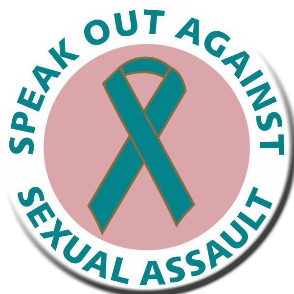 SPEAK OUT AGAINST SEXUAL ASSAULT- Roll of 1000 Stickers