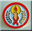 CANDLE OF HOPE RED RIBBON- Pin