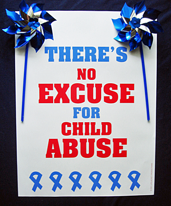 *SALE POSTER PACKAGE - All 4 Child Abuse Awareness Posters