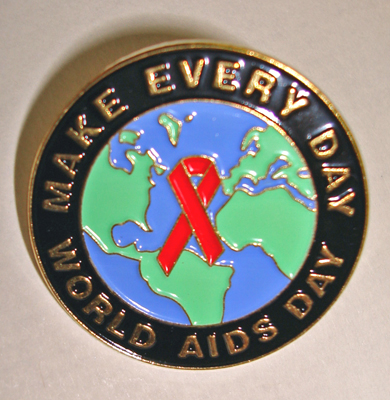 WORLD AIDS EVERY DAY - Lapel Pin